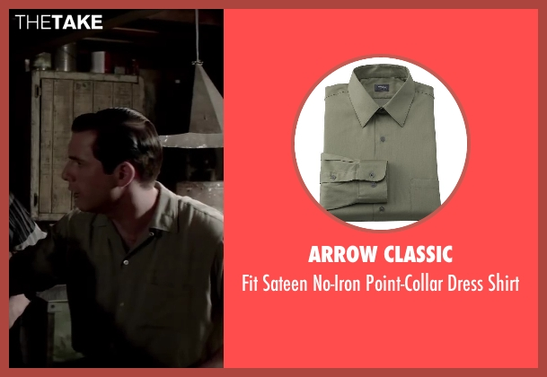 Arrow Classic green shirt from Jersey Boys seen with Michael Lomenda (Nick Massi)