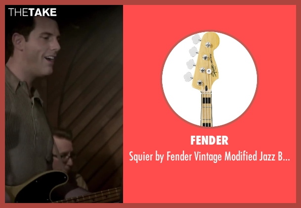 Fender natural from Jersey Boys seen with Michael Lomenda (Nick Massi)