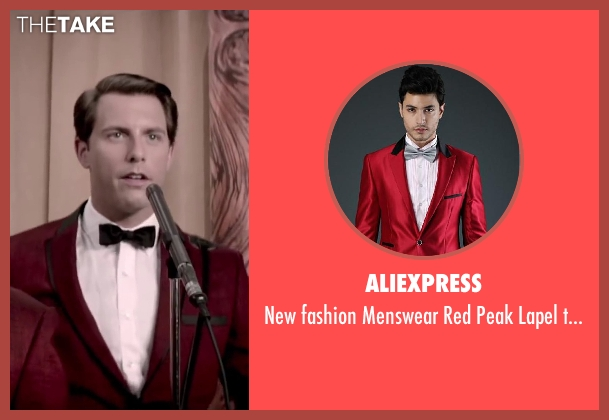 Aliexpress red tuxedo from Jersey Boys seen with Michael Lomenda (Nick Massi)