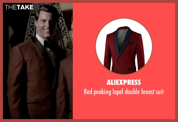 Aliexpress suit from Jersey Boys seen with Michael Lomenda (Nick Massi)