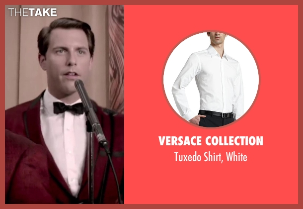 Versace Collection white white from Jersey Boys seen with Michael Lomenda (Nick Massi)