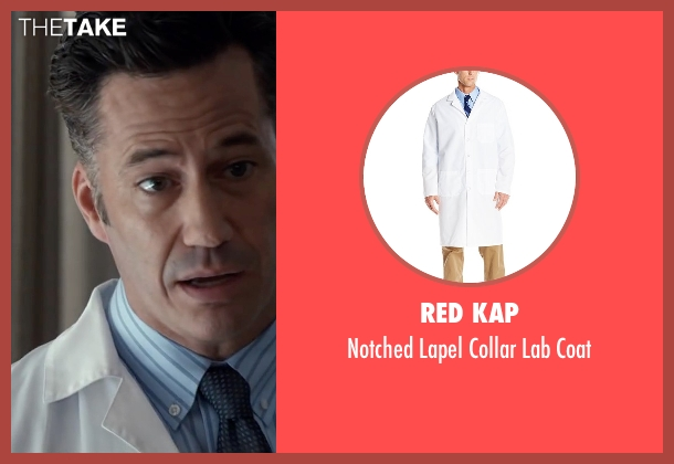 Red Kap white coat from The Longest Ride seen with Michael Lowry (Luke's Doctor)