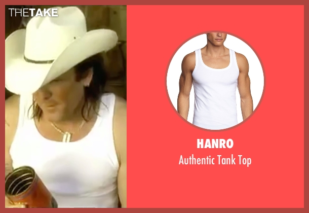 Hanro white top from Kill Bill: Vol. 2 seen with Michael Madsen (Budd)