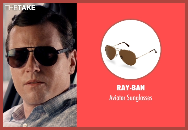 Ray-Ban brown sunglasses from Hot Pursuit seen with Michael Mosley (Unknown Character)