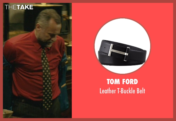 Tom Ford black belt from John Wick seen with Michael Nyqvist (Viggo Tarasov)
