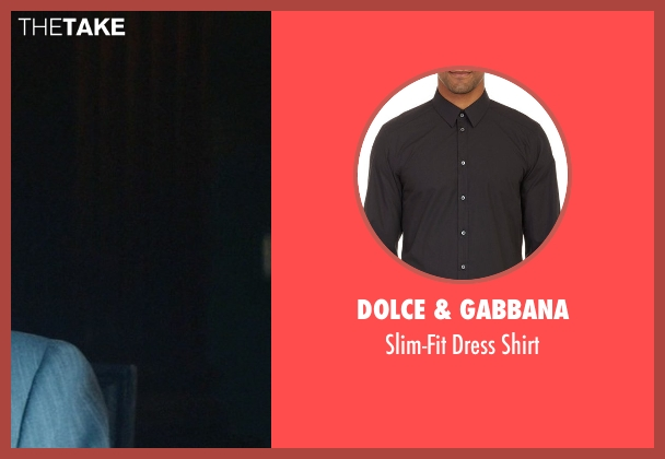 Dolce & Gabbana black shirt from John Wick seen with Michael Nyqvist (Viggo Tarasov)