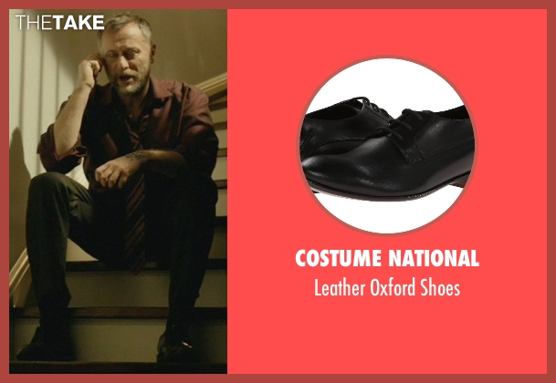 Costume National black shoes from John Wick seen with Michael Nyqvist (Viggo Tarasov)