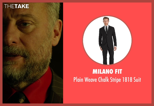 Milano Fit black suit from John Wick seen with Michael Nyqvist (Viggo Tarasov)