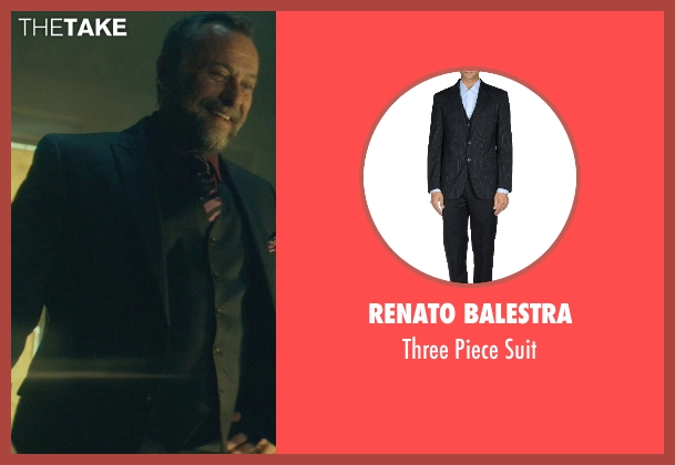 Renato Balestra black suit from John Wick seen with Michael Nyqvist (Viggo Tarasov)