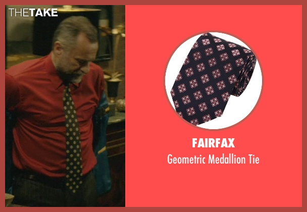 Fairfax black tie from John Wick seen with Michael Nyqvist (Viggo Tarasov)