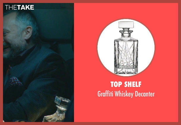 Top Shelf decanter from John Wick seen with Michael Nyqvist (Viggo Tarasov)