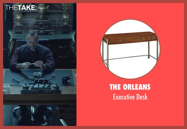 The Orleans desk from John Wick seen with Michael Nyqvist (Viggo Tarasov)