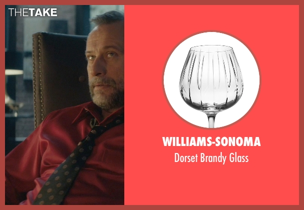 Williams-Sonoma glass from John Wick seen with Michael Nyqvist (Viggo Tarasov)