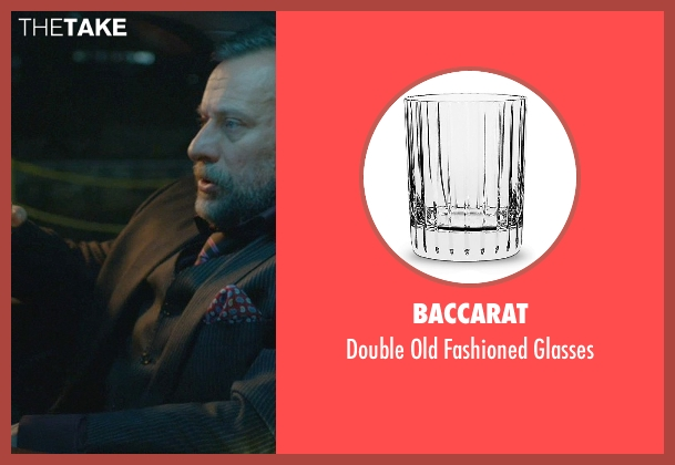Baccarat glasses from John Wick seen with Michael Nyqvist (Viggo Tarasov)