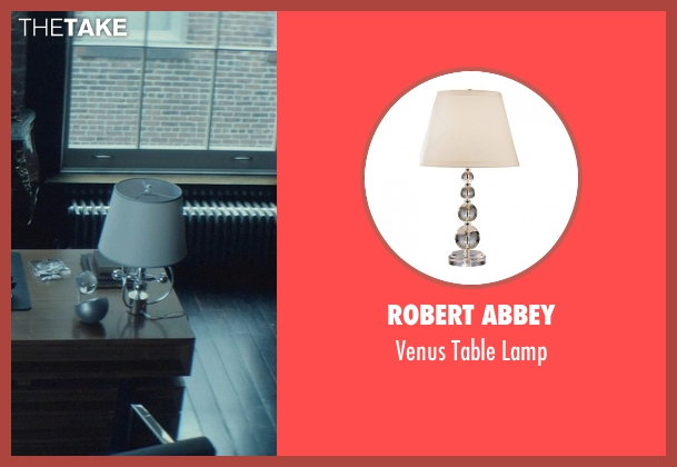 Robert Abbey lamp from John Wick seen with Michael Nyqvist (Viggo Tarasov)