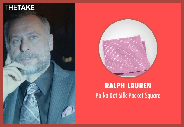 Ralph Lauren pink square from John Wick seen with Michael Nyqvist (Viggo Tarasov)