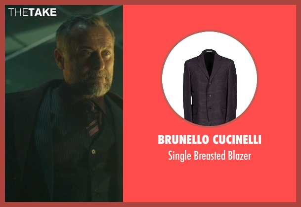 Brunello Cucinelli purple blazer from John Wick seen with Michael Nyqvist (Viggo Tarasov)