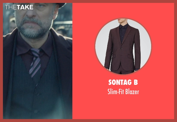 Sontag B purple blazer from John Wick seen with Michael Nyqvist (Viggo Tarasov)