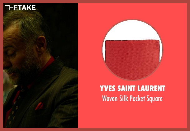 Yves Saint Laurent red square from John Wick seen with Michael Nyqvist (Viggo Tarasov)