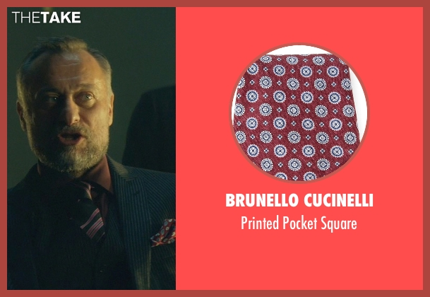 Brunello Cucinelli square from John Wick seen with Michael Nyqvist (Viggo Tarasov)