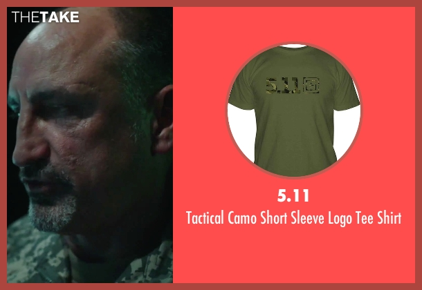 5.11 green shirt from American Ultra seen with Michael Papajohn (Otis)