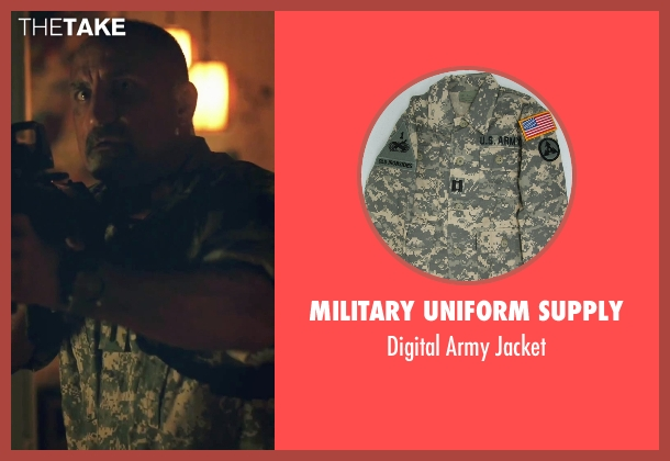 Military Uniform Supply jacket from American Ultra seen with Michael Papajohn (Otis)