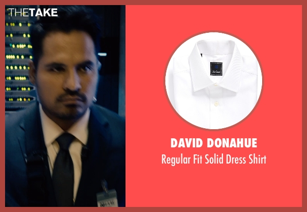 David Donahue white shirt from Ant-Man seen with Michael Peña (Luis)