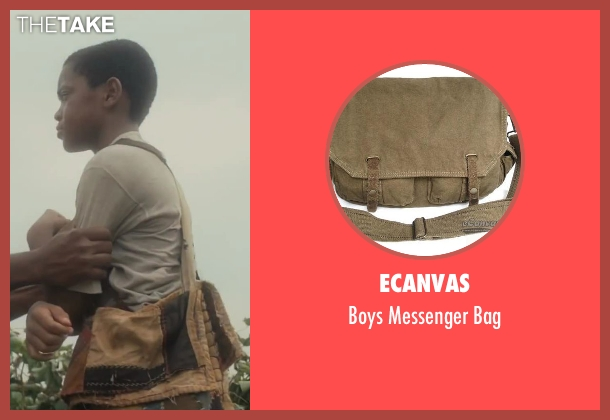 eCanvas bag from Lee Daniels' The Butler seen with Michael Rainey Jr. (Cecil Gaines (8 yrs.old))