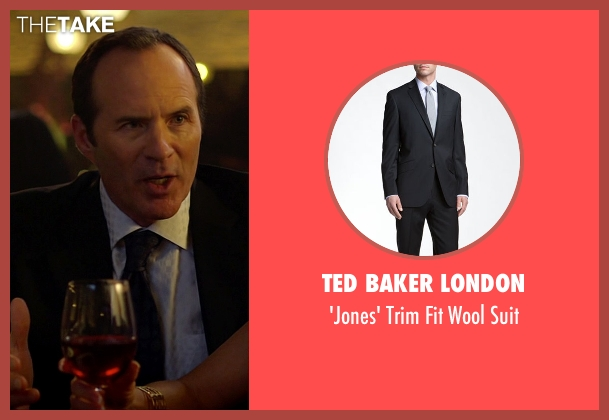 Ted Baker London black suit from Need for Speed seen with Michael Rose (Investor)