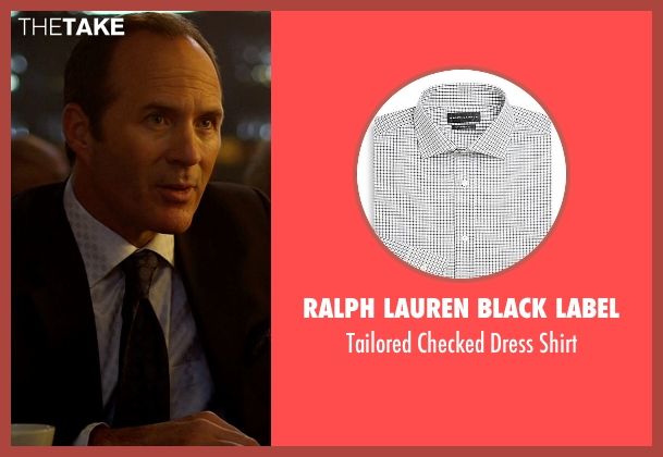 Ralph Lauren Black Label white shirt from Need for Speed seen with Michael Rose (Investor)