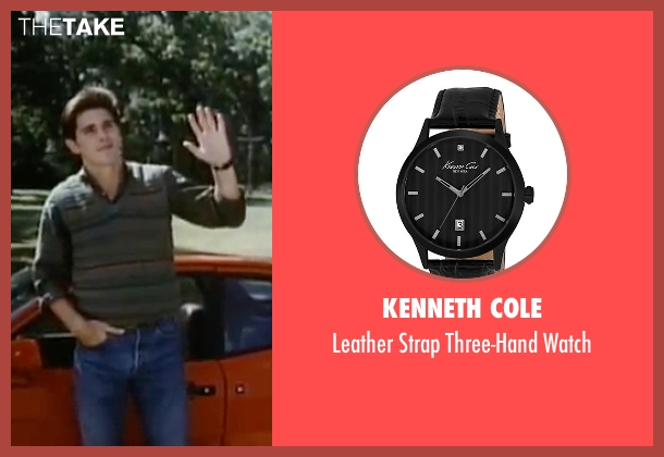 Kenneth Cole black watch from Sixteen Candles seen with Michael Schoeffling (Jake Ryan)