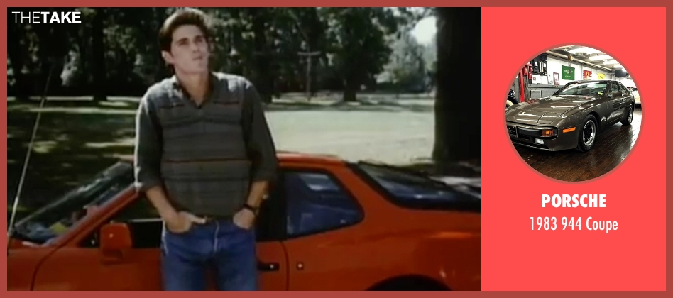 Porsche coupe from Sixteen Candles seen with Michael Schoeffling (Jake Ryan)