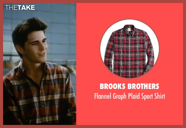 Brooks Brothers red shirt from Sixteen Candles seen with Michael Schoeffling (Jake Ryan)