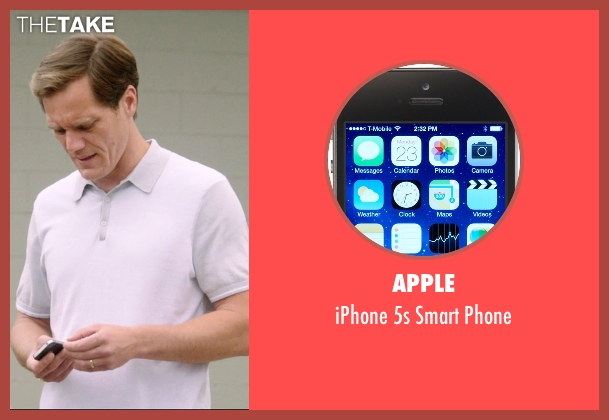 Apple phone from 99 Homes seen with Michael Shannon (Rick Carver)