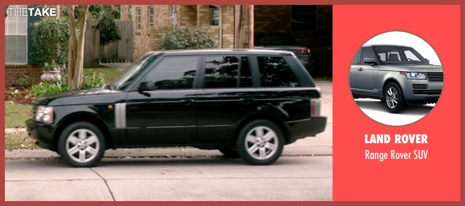 Land Rover suv from 99 Homes seen with Michael Shannon (Rick Carver)