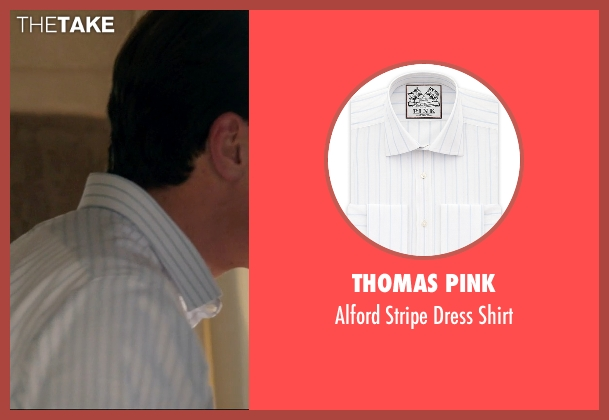 Thomas Pink white shirt from 99 Homes seen with Michael Shannon (Rick Carver)