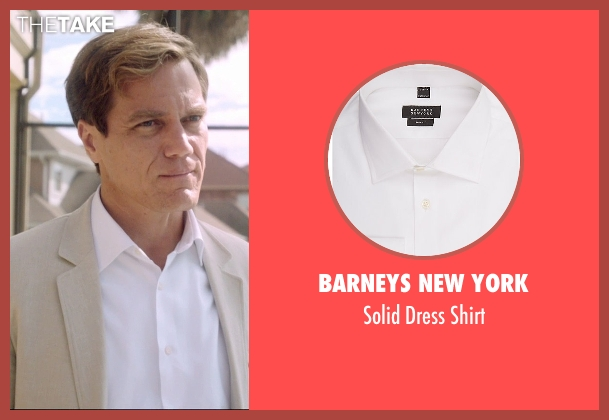 Barneys New York white shirt from 99 Homes seen with Michael Shannon (Rick Carver)