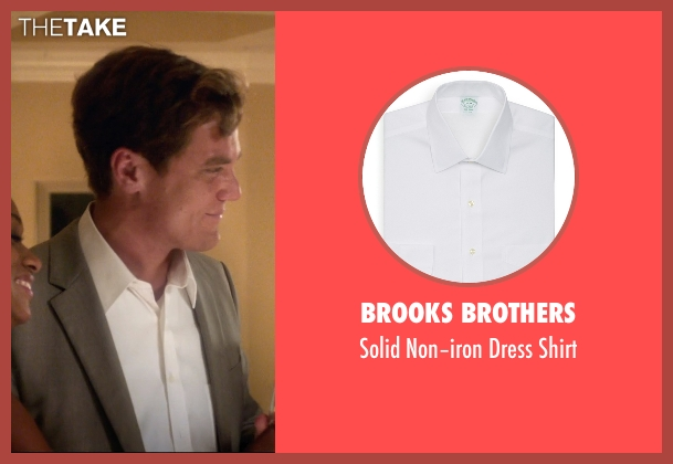 Brooks Brothers white shirt from 99 Homes seen with Michael Shannon (Rick Carver)