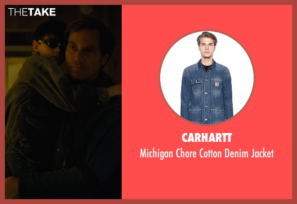 Carhartt blue jacket from Midnight Special seen with Michael Shannon (Roy)