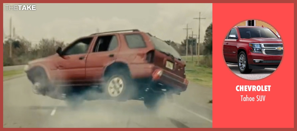 Chevrolet suv from Midnight Special seen with Michael Shannon (Roy)
