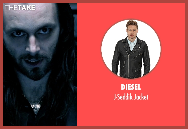 Diesel black jacket from Underworld seen with Michael Sheen (Lucian)