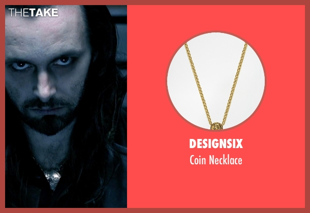 Designsix gold necklace from Underworld seen with Michael Sheen (Lucian)