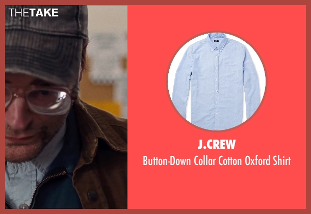J.Crew blue shirt from Cut Bank seen with Michael Stuhlbarg (Derby Milton)