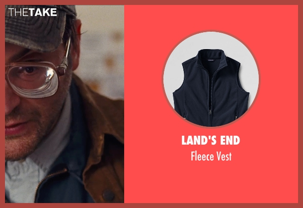 Land's End blue vest from Cut Bank seen with Michael Stuhlbarg (Derby Milton)