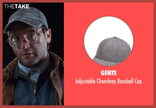 Gents gray cap from Cut Bank seen with Michael Stuhlbarg (Derby Milton)