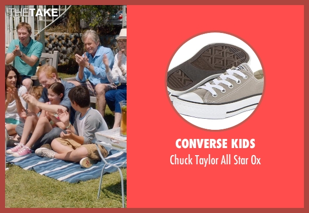 Converse Kids gray ox from And So It Goes seen with Michael Terra (Peter)