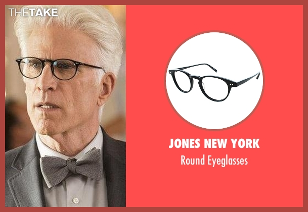 Jones New York black eyeglasses from The Good Place seen with Michael (Ted Danson)