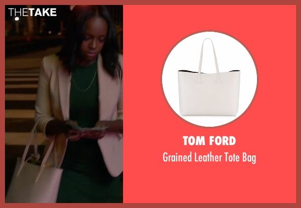 Tom Ford black bag from How To Get Away With Murder seen with Michaela Pratt (Aja Naomi King)
