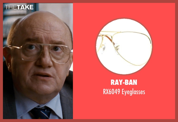 Ray-Ban eyeglasses from The Hundred-Foot Journey seen with Michel Blanc (The Mayor)