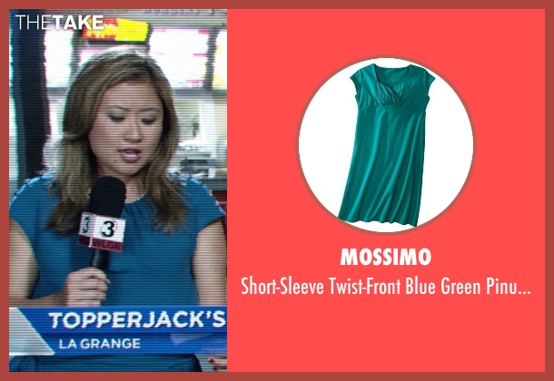 Mossimo blue dress from Tammy seen with Michelle Li (Reporter)
